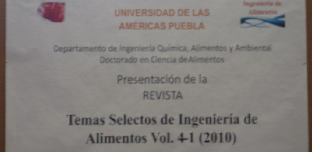Presentación TSIA Vol.4 No.1
