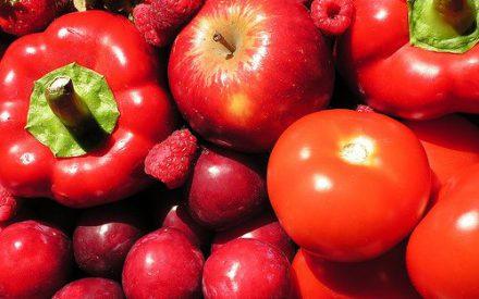 Pigmentos en frutas y hortalizas rojas: antocianinas